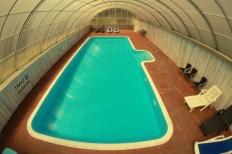 Bazén se slanou vodou - vyhřívaný